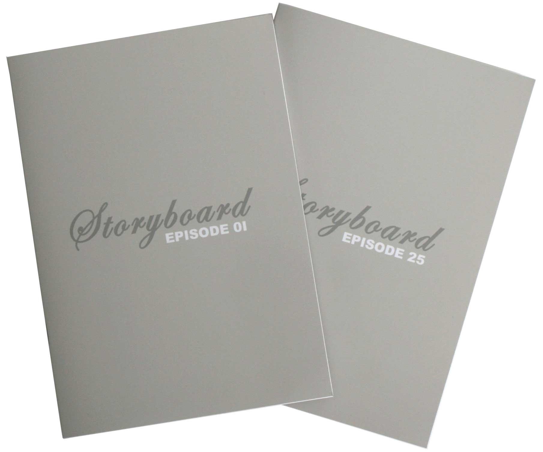 Livret de Story board Fullmettal Alchemist Box DVD collector 1