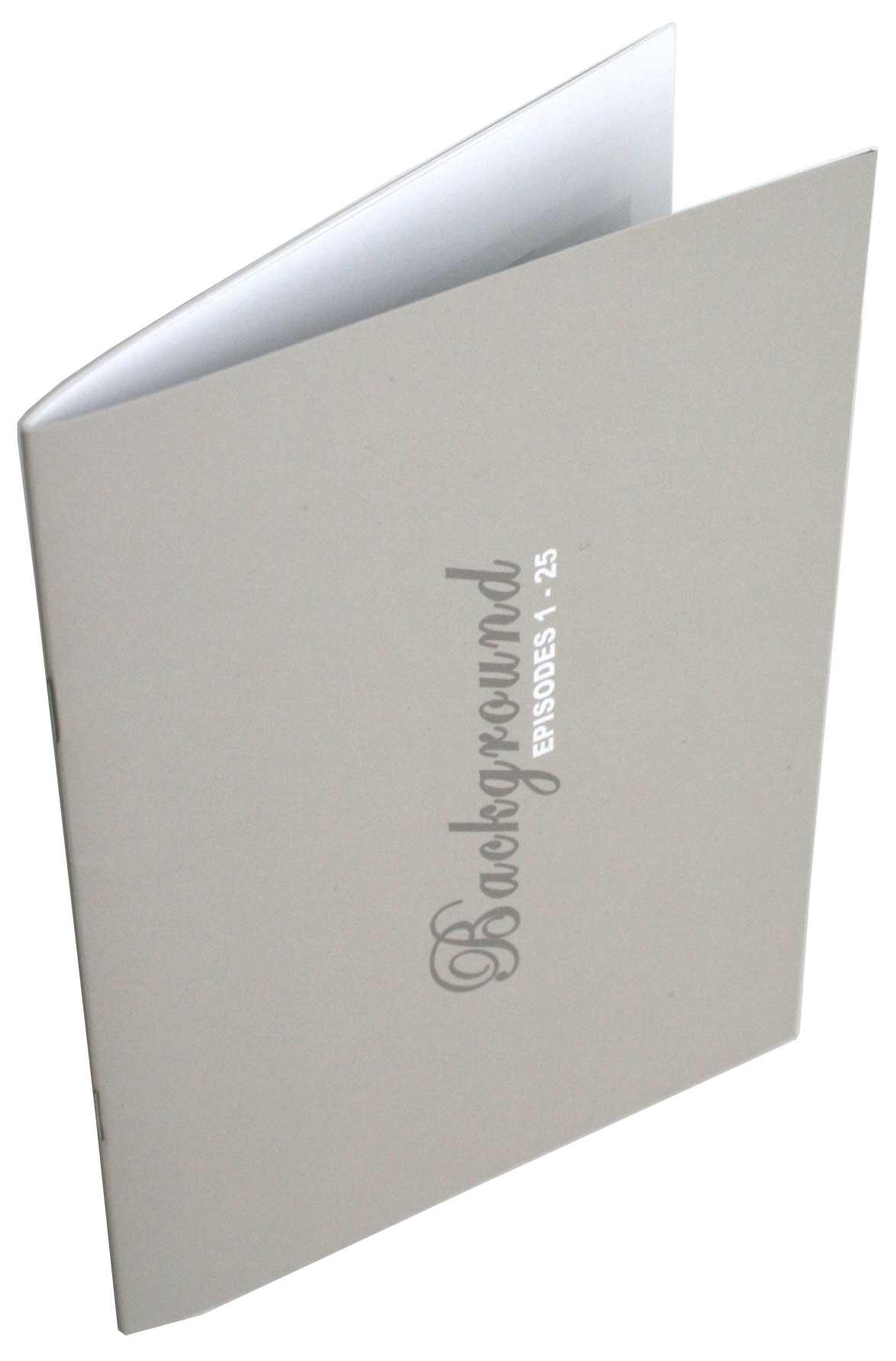 Livret des décors Fullmettal Alchemist Box DVD collector 1