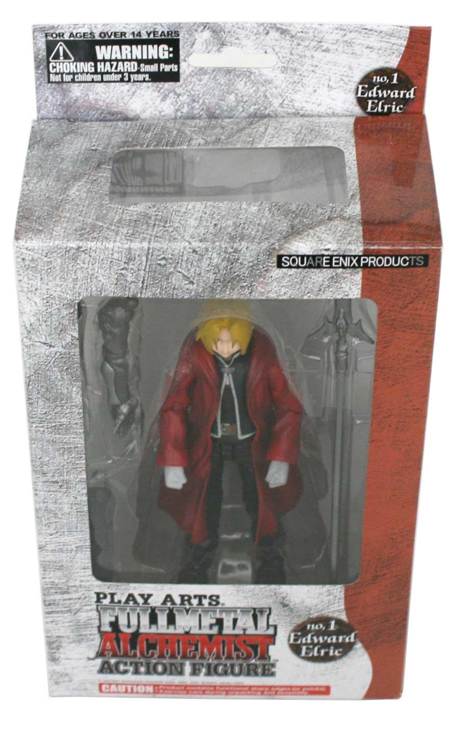 Edward Elric : Action Figurine - (Fullmetal Alchemist - 2008)