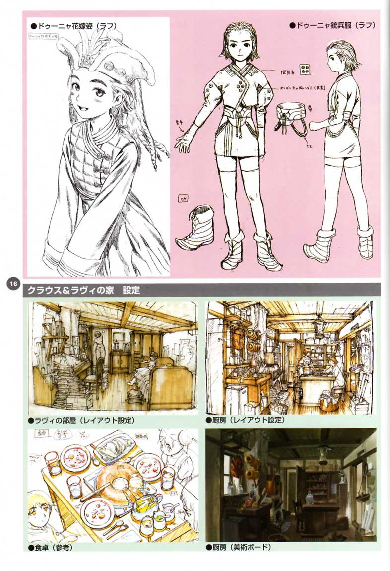 Last Exile - Aerial Log - (2005 - Art Book) page 16