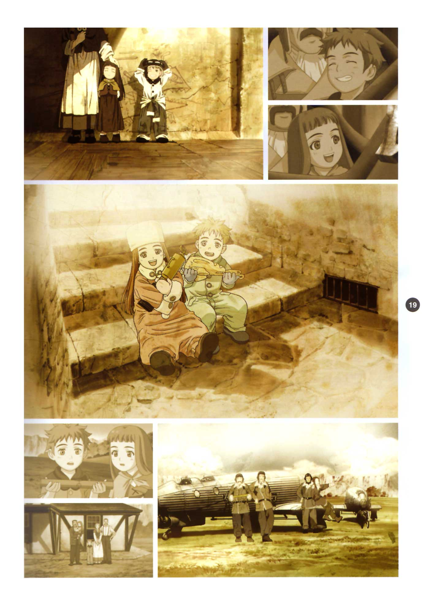 Last Exile - Aerial Log - (2005 - Art Book) Page 19