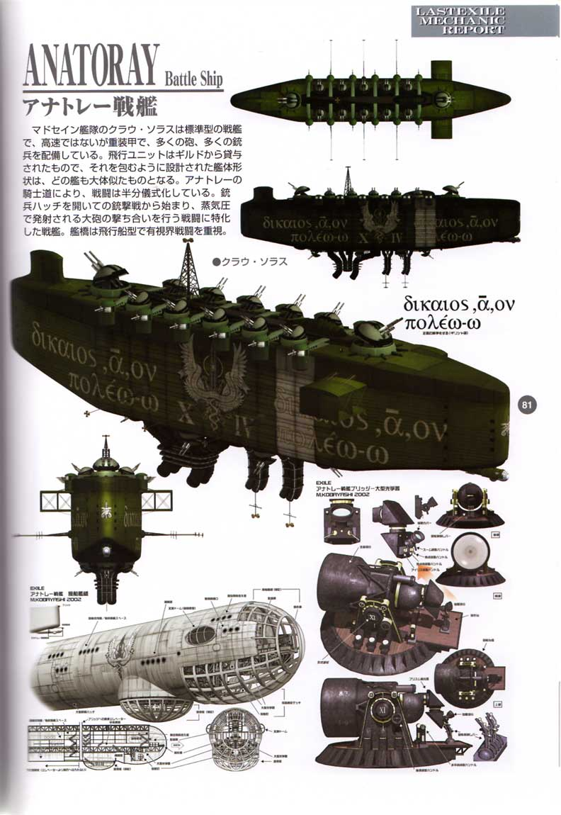 Last Exile - Aerial Log - (2005 - Art Book) Page 81