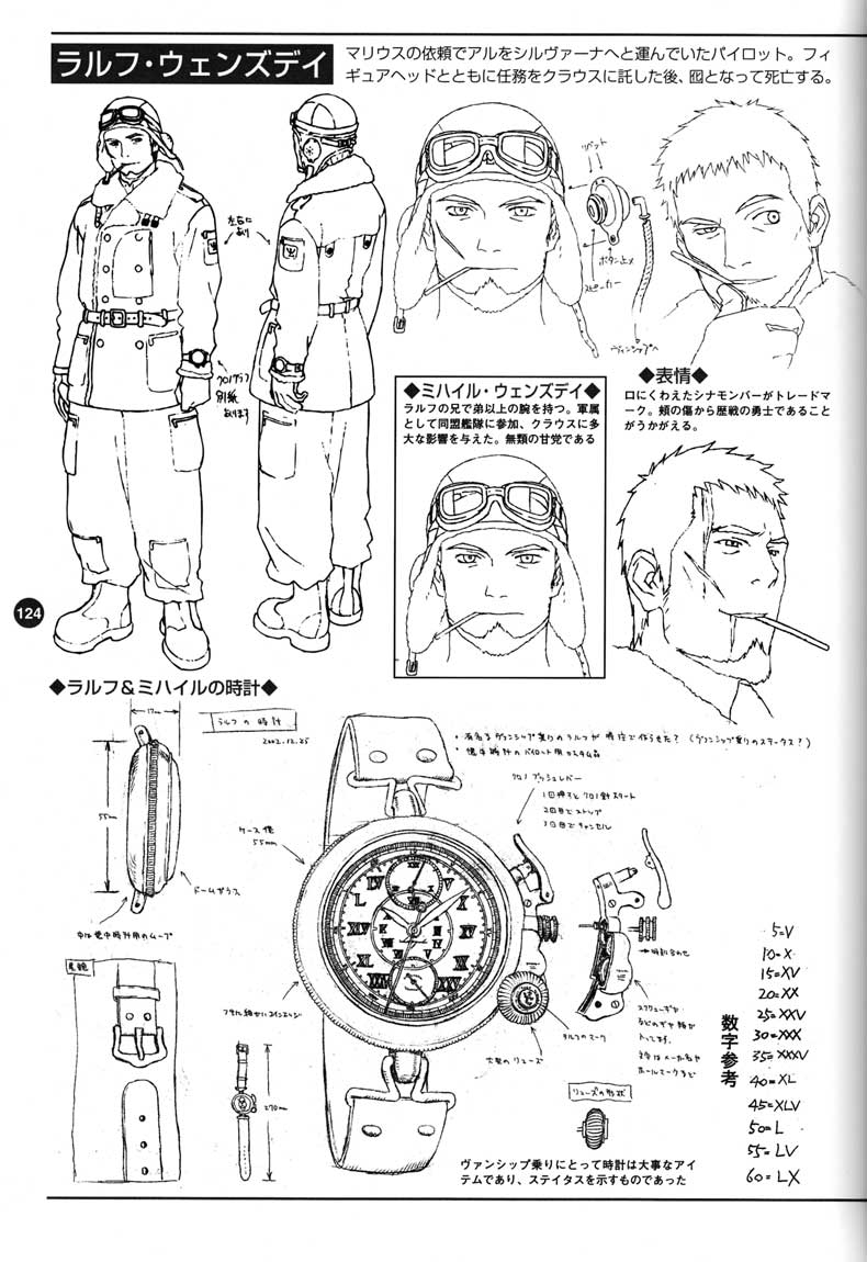 Last Exile - Aerial Log - (2005 - Art Book) Page 124