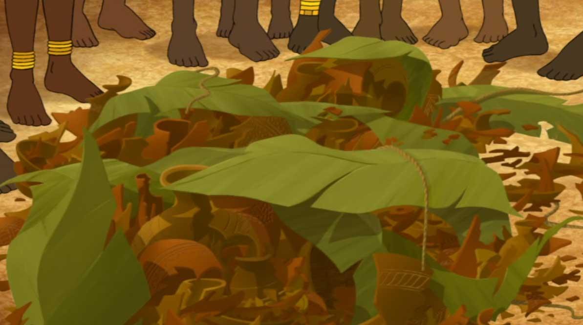 Kirikou potier (Kirikou et les bêtes sauvages)