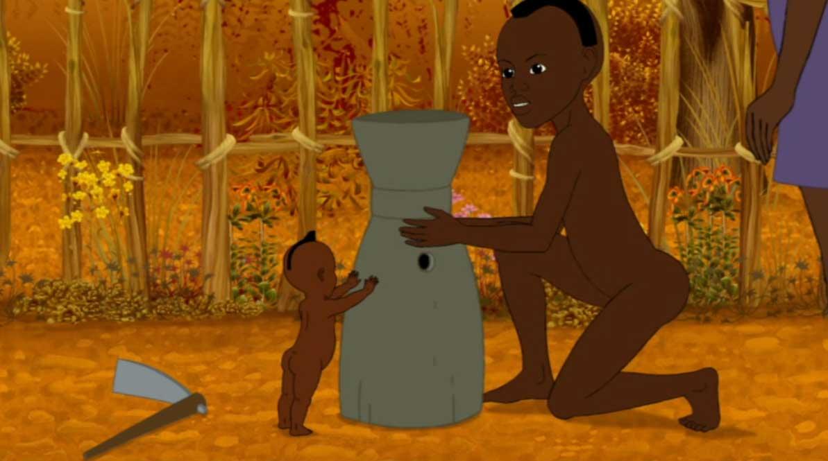Histoire 4 : Kirikou et la fleur de poison (Kirikou et les bêtes sauvages)