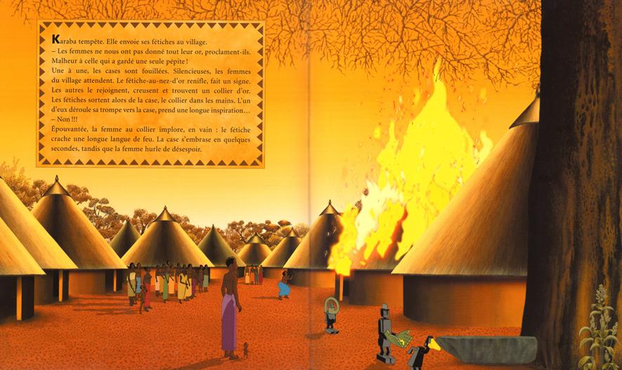 Les fétiches punissent les villageois qui désobéissent à Karaba