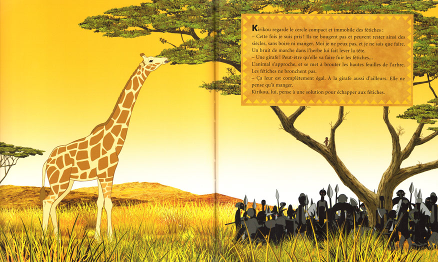Kirikou et la girafe p12