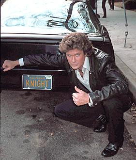 Michael Knight avec KITT