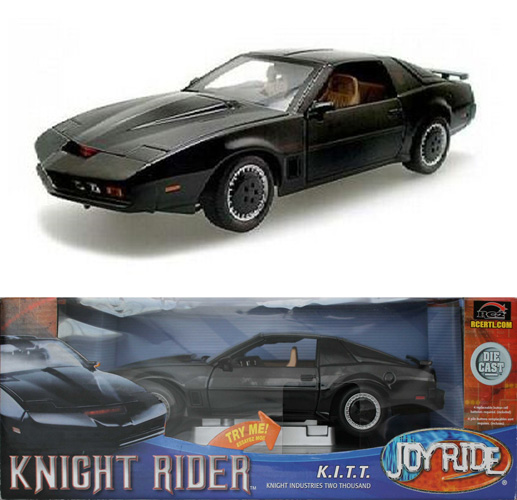 ERTL : Knight Rider (K2000) K.I.T.T. - ech 1/18