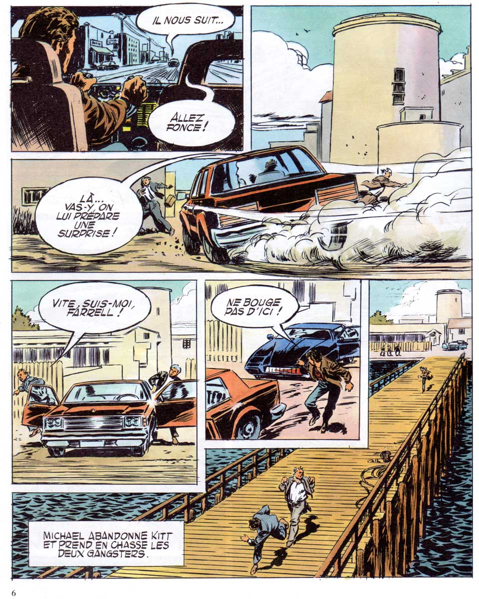 K2000 La Machine A Tuer (1988) Dargaud page 4