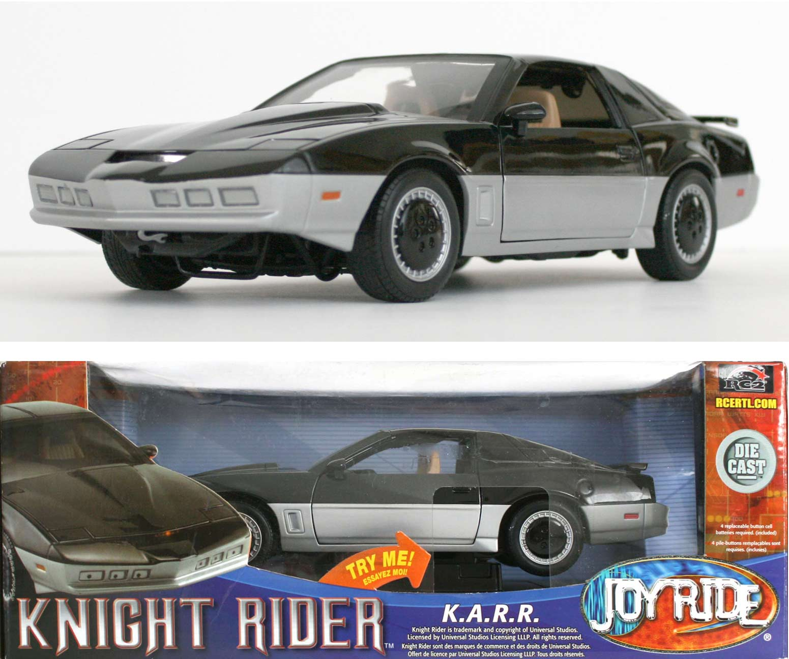 ERTL : K.A.R.R. (K2000) Knight Rider - ech 1/18 (2005)