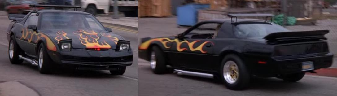 Saison 2 épisode 8, KITT est Tuné (customisé) pour participer discrètement à une manifestation (K2000 - Knight Rider)