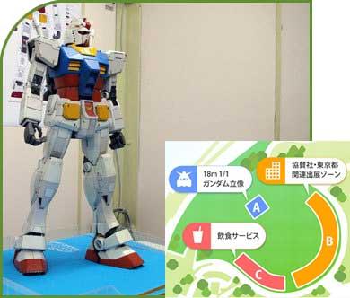 Maquette préparatoire du Gundam