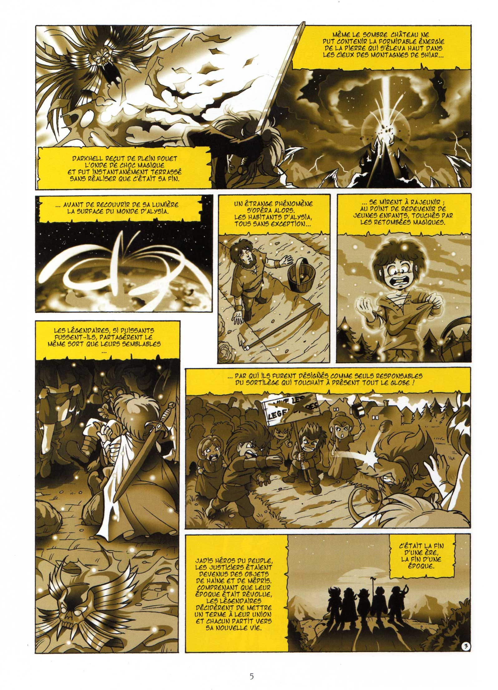 Les Légendaires Tome 1 : La Pierre de Jovénia : Page 3