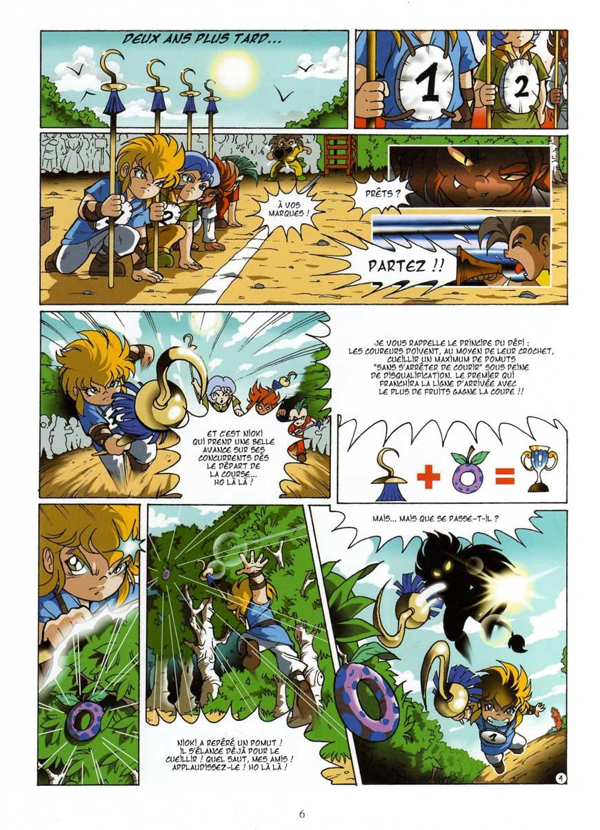 Les Légendaires Tome 1 : La Pierre de Jovénia : Page 4