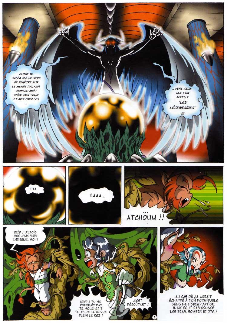 Les Légendaires Tome 2 : Le Gardien (page 1)