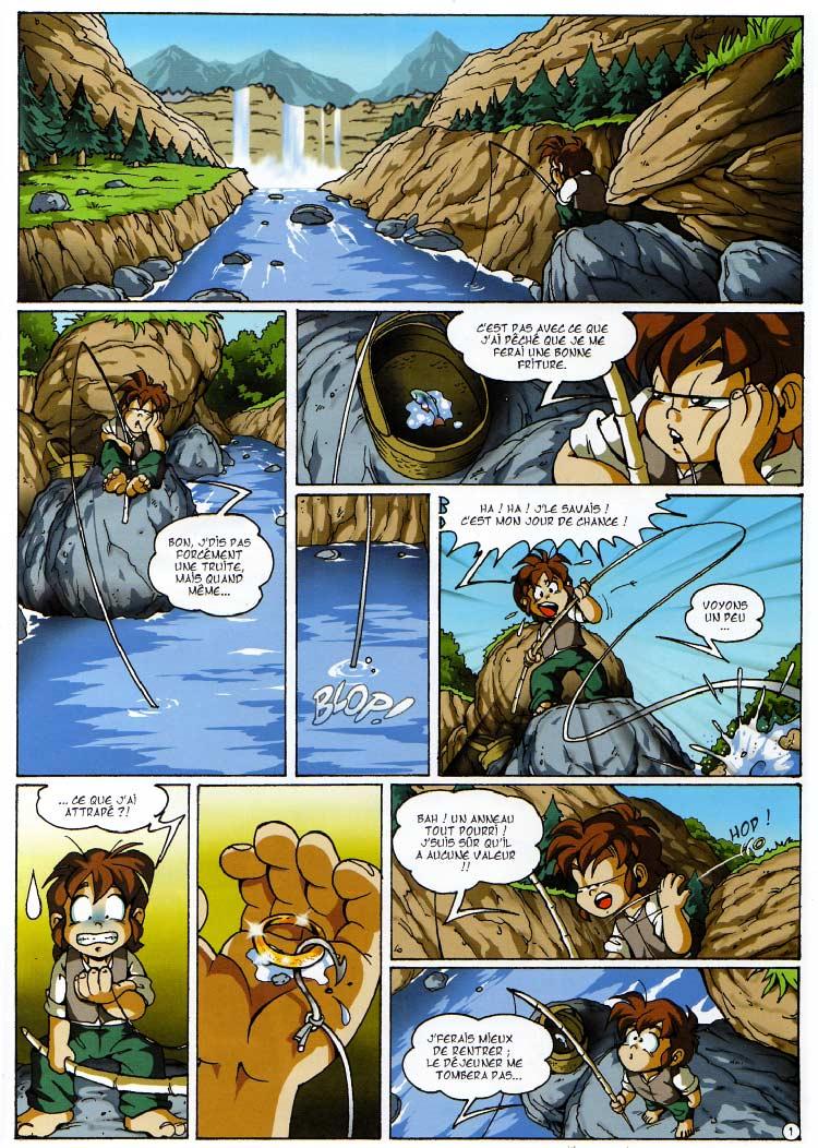 page 01 - Les Légendaires Tome 03 : Frères ennemis