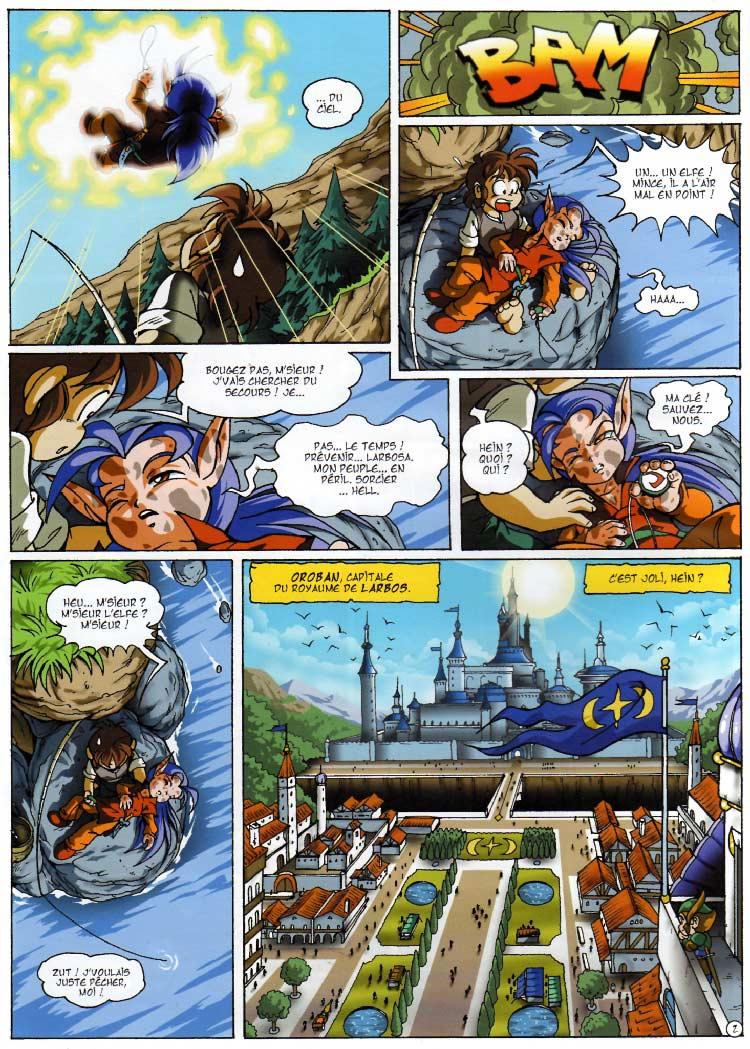 page 02 - Les Légendaires Tome 03 : Frères ennemis