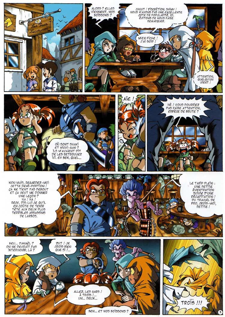 page 03 - Les Légendaires Tome 03 : Frères ennemis