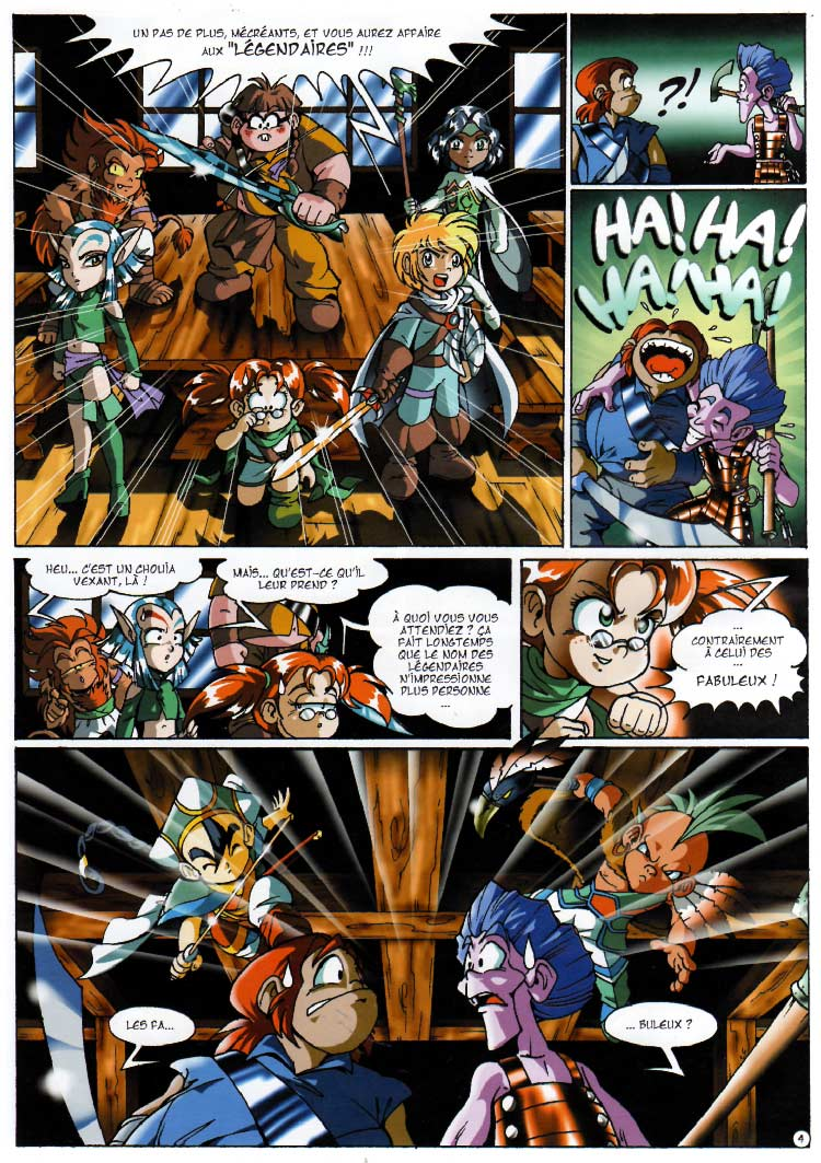 page 04 - Les Légendaires Tome 03 : Frères ennemis