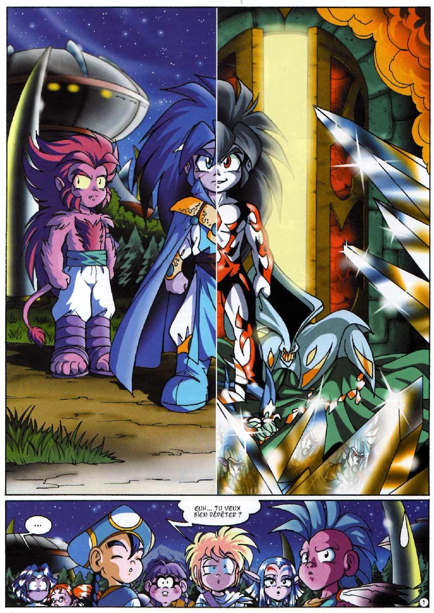 Page 01 - Tome 04 : Le réveil de Kréa-Kaos