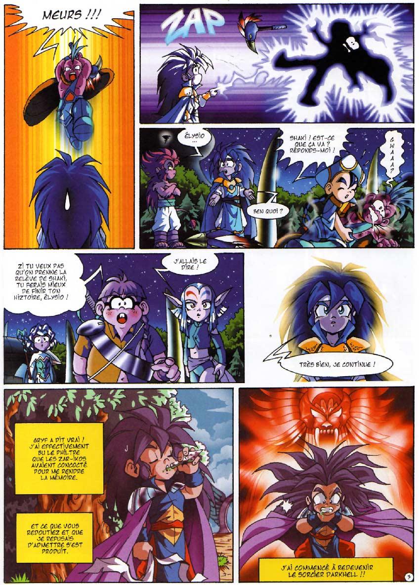 Page 03 - Tome 04 : Le réveil de Kréa-Kaos