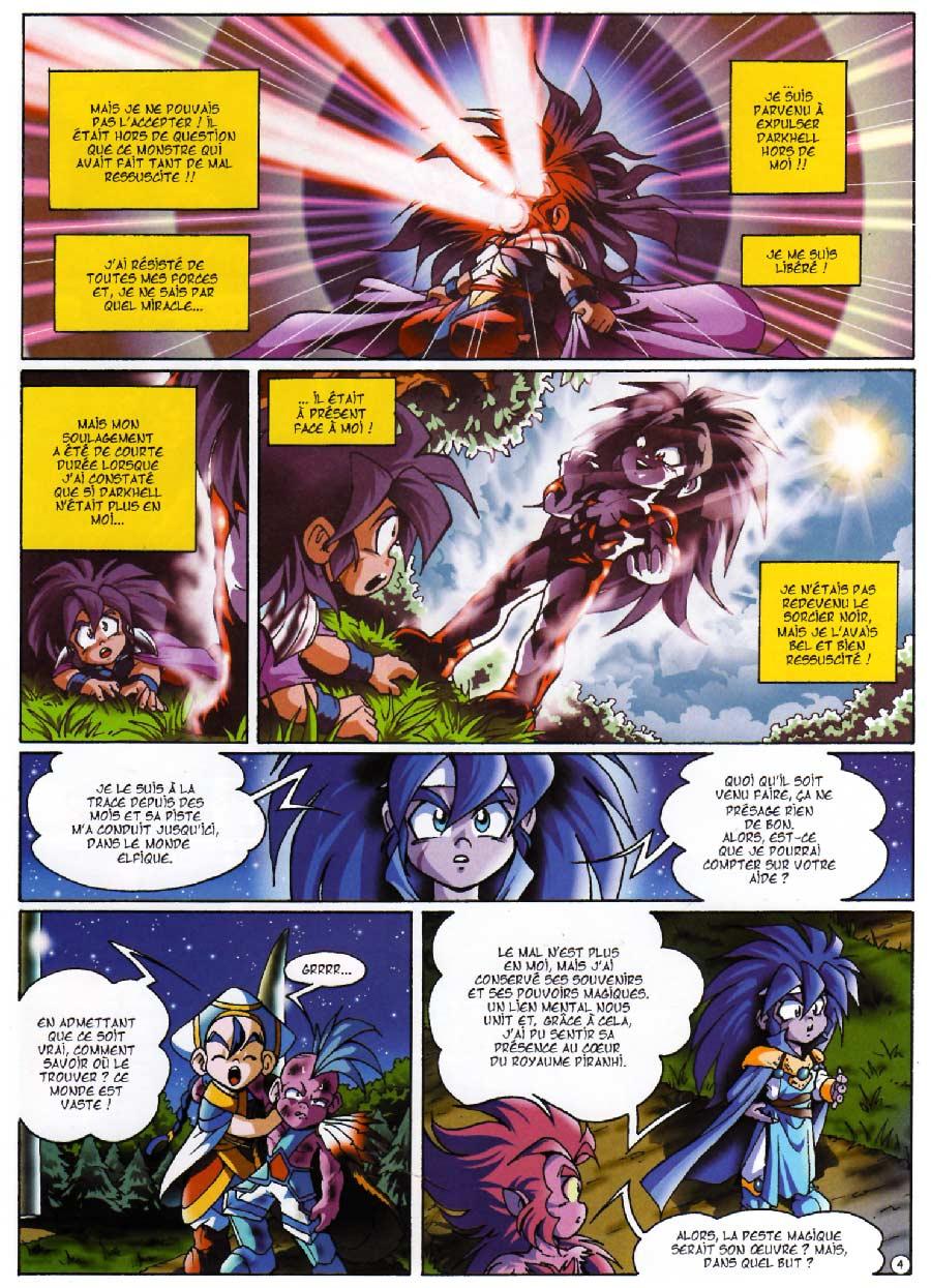 Page 04 - Tome 04 : Le réveil de Kréa-Kaos