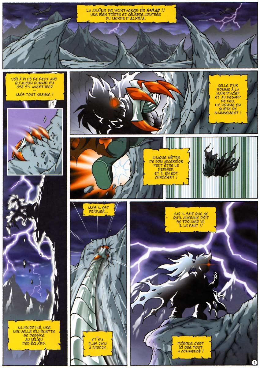 Page 1 - Les Légendaires Tome 05 : Cœur du passé