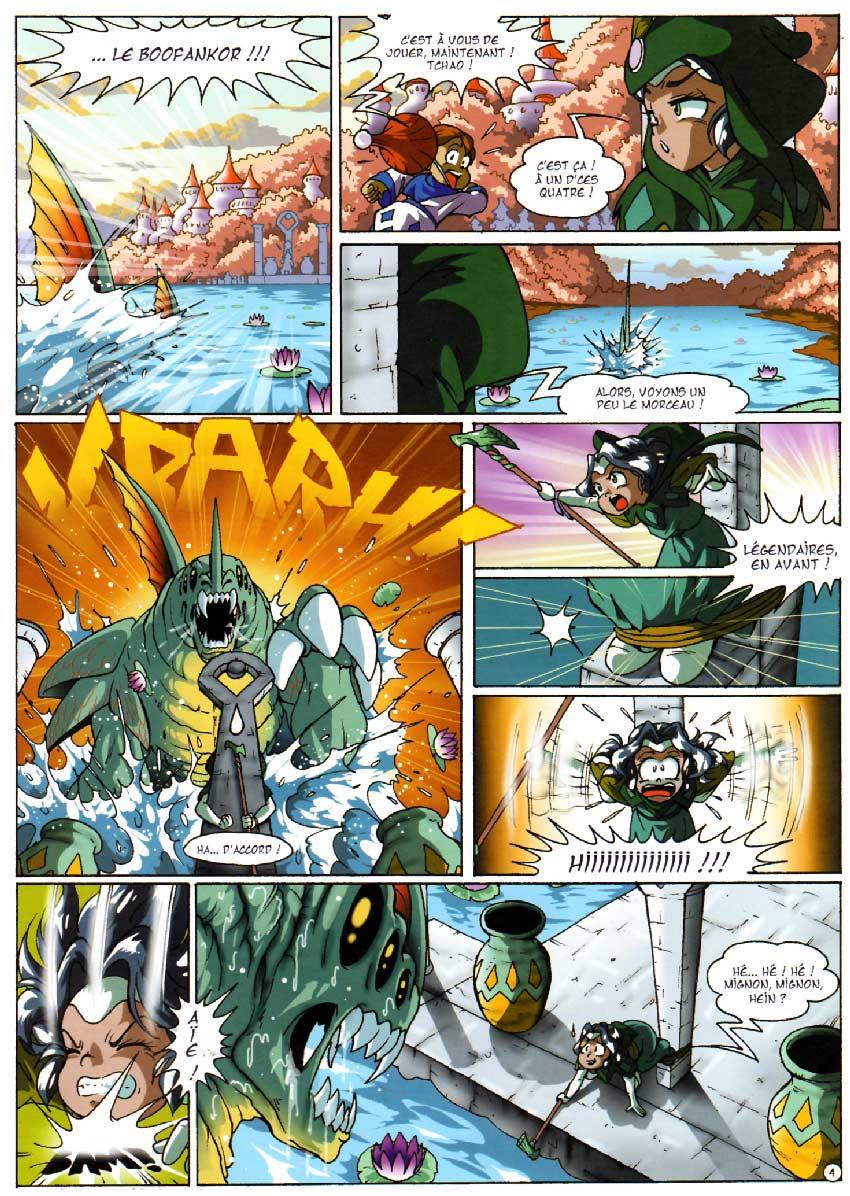 Page 4 - Les Légendaires Tome 05 : Cœur du passé