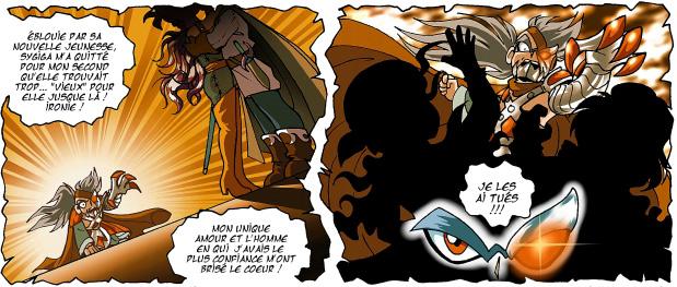 Suite à l'Accident de Jovenia, Sygiga est tombée amoureuse de son capitaine en second qu'elle trouvait trop vieux jusque là. Ne supportant pas cette trahison Ceydeirom les tua tous les deux.