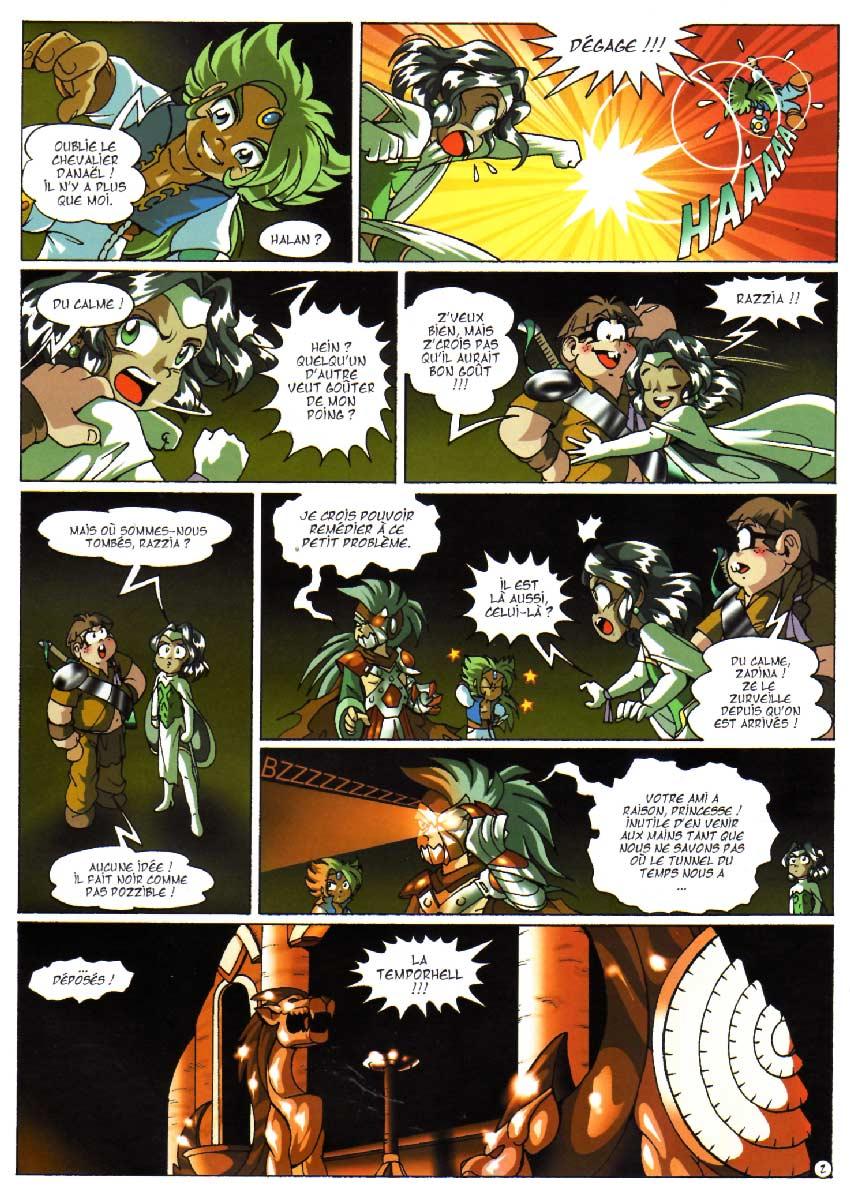 Page 2 - Tome 06 : Main du futur