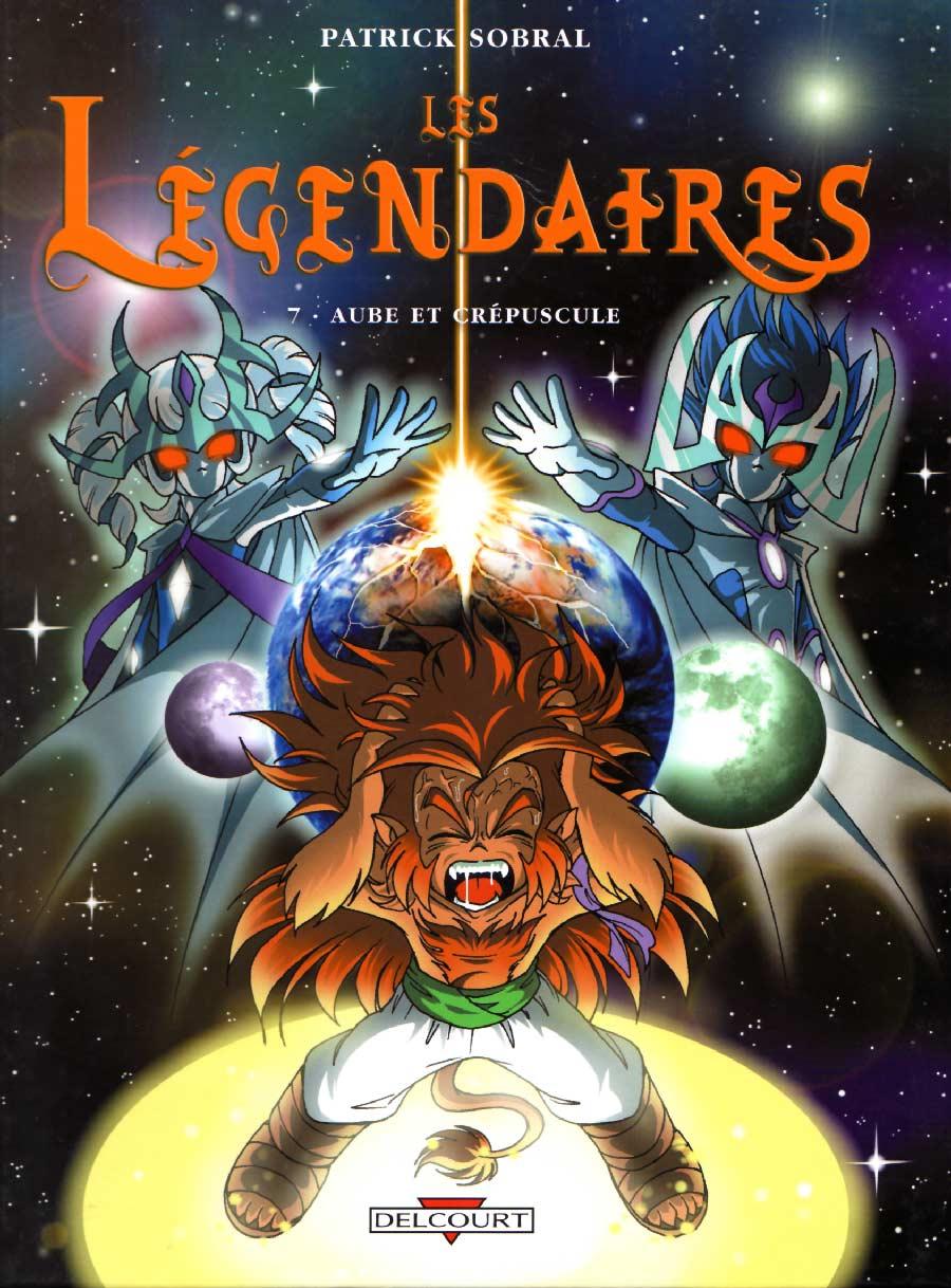 Les Légendaires Tome 07 : Aube et Crépuscule (Couverture)