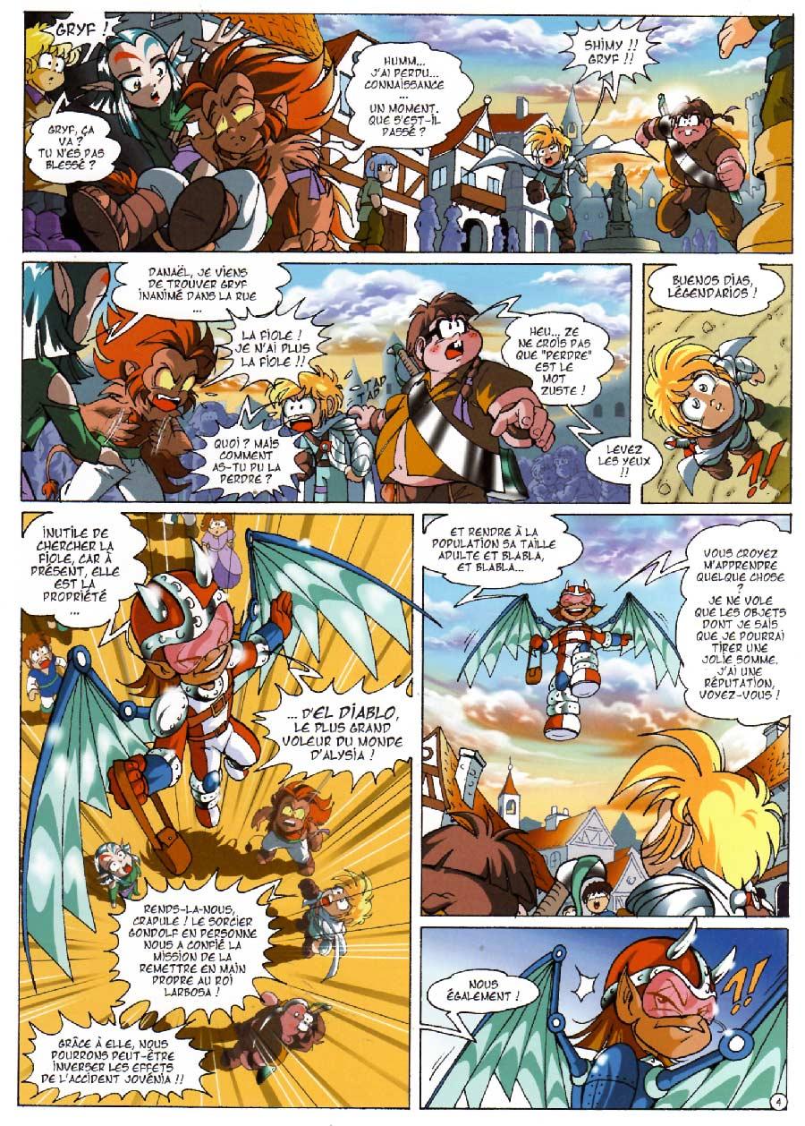 Page 4 - Les Légendaires Tome 07 : Aube et Crépuscule