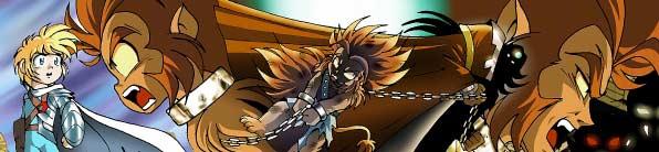 Dans ce tome on découvre le passé de Gryf lorsqu'il était un monsalve qui combattait dans l'arène.