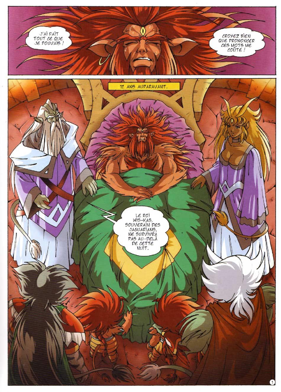 Page 1 : Les Légendaires Tome 08 : Griffes et plumes