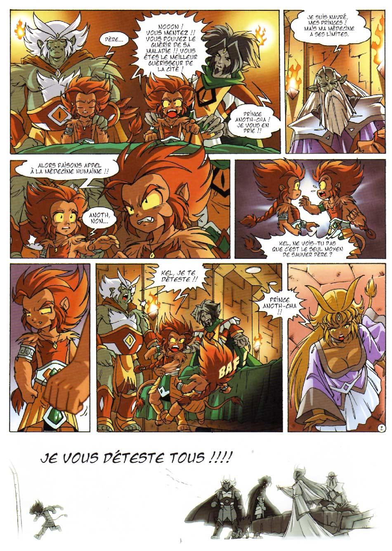 Page 2 : Les Légendaires Tome 08 : Griffes et plumes