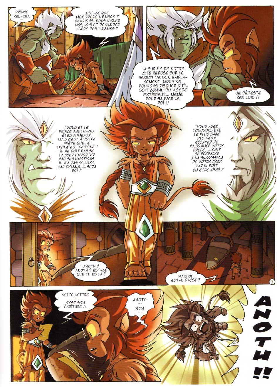 Page 3 : Les Légendaires Tome 08 : Griffes et plumes