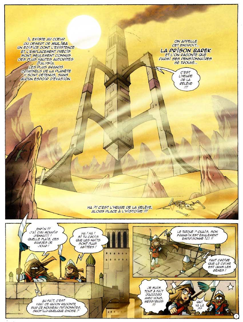 Page 1 : Les Légendaires Tome 09 : L'Alystory