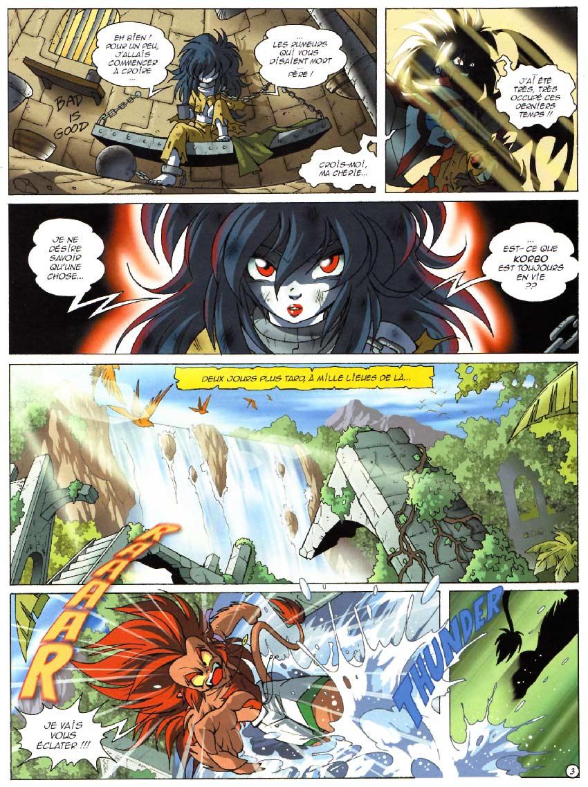 Page 3 : Les Légendaires Tome 09 : L'Alystory
