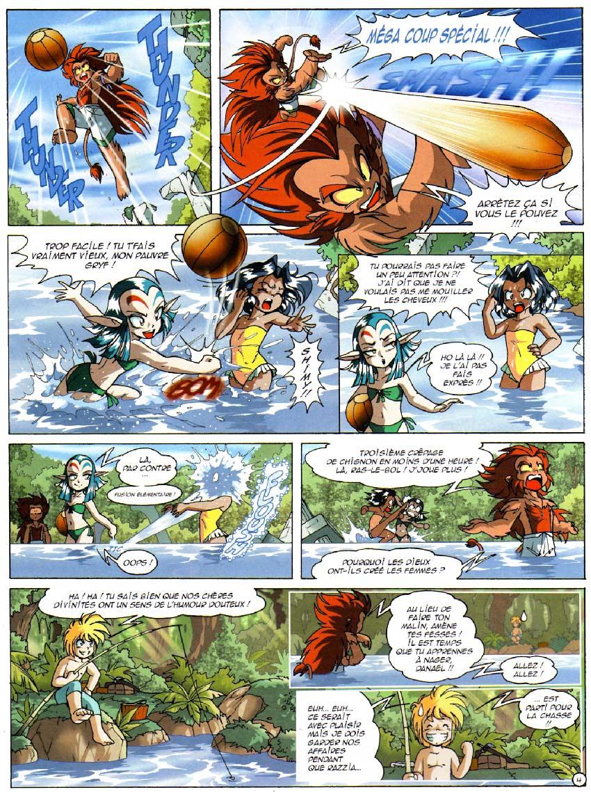 Page 4 : Les Légendaires Tome 09 : L'Alystory
