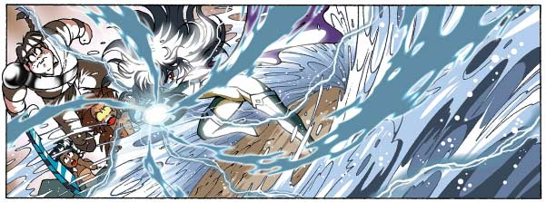 Contre toutes attentes, Ténébris, la fille de Darkhell, s'oppose à son père pour protéger les Légendaires