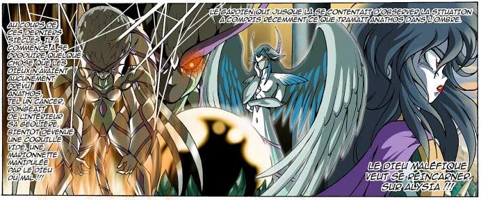 Avec le temps le pouvoir de la Porteuse s'est affaibli. Anathos est à présent en mesure de la contrôler.