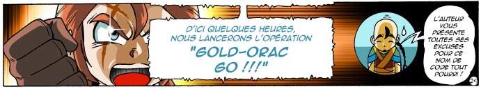 Ikaël reprend la célèbre phrase d'Actarus : Goldorak Go