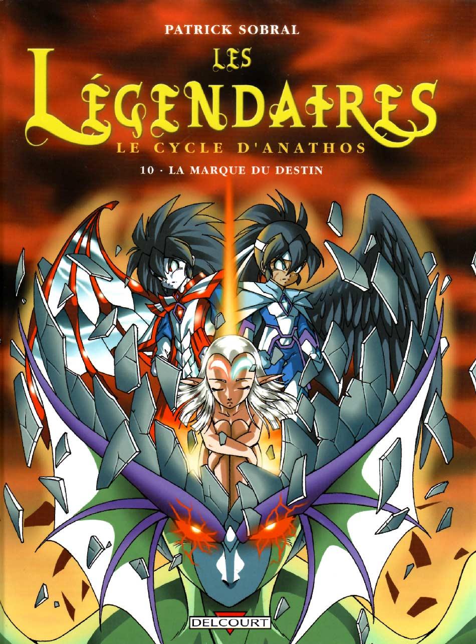 Les Légendaires Tome 10 : La marque du destin (couverture)