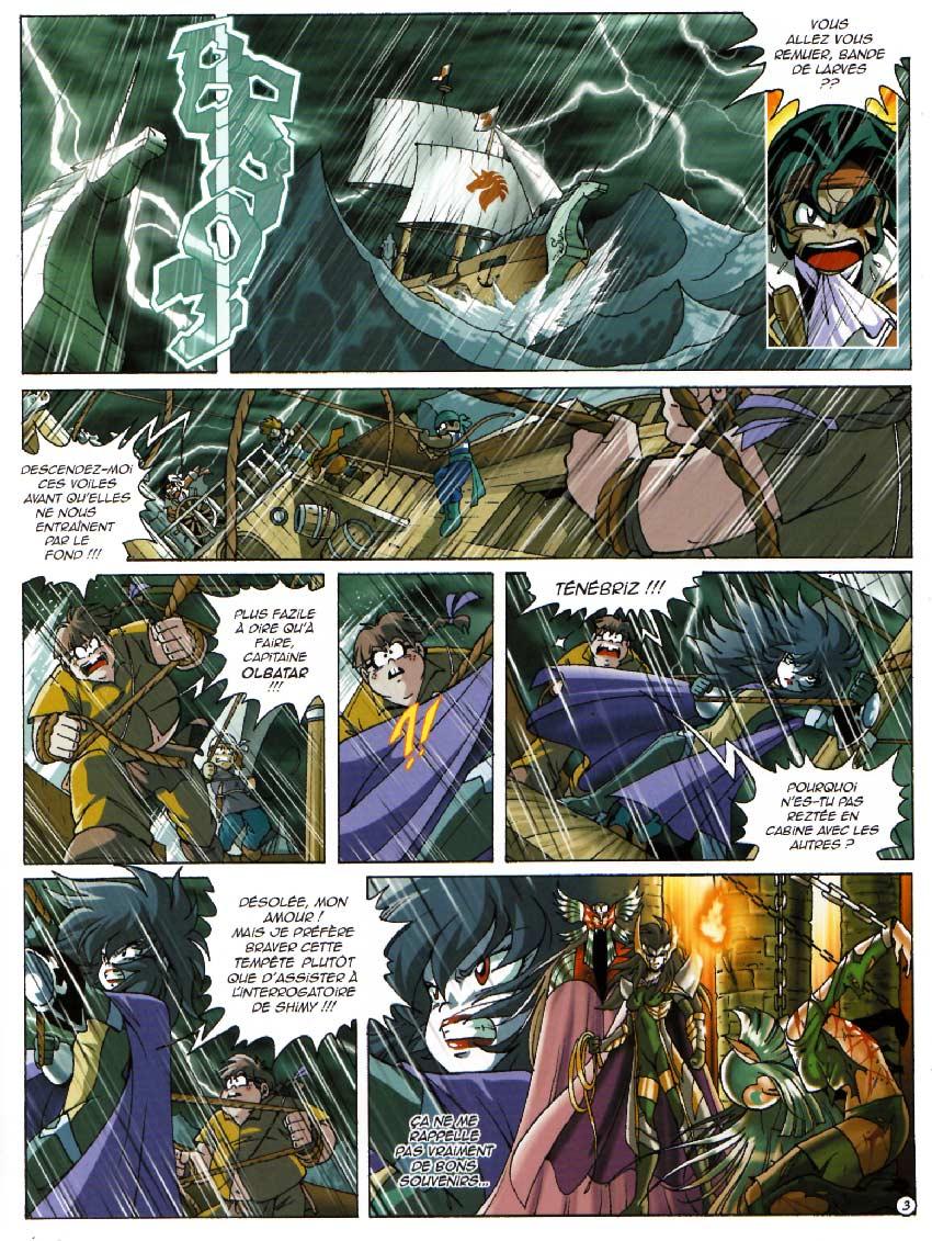 page 3 : Les Légendaires Tome 10 : La marque du destin