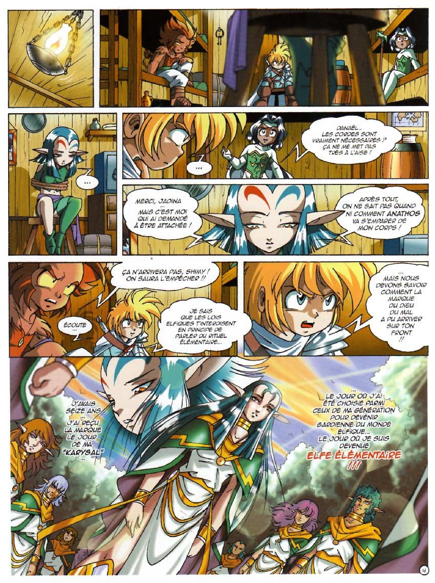 page 4 : Les Légendaires Tome 10 : La marque du destin