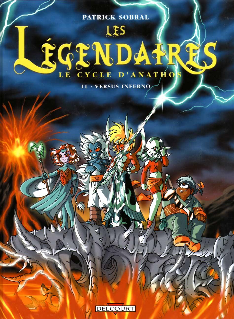 Les Légendaires Tome 11 : Versus Inferno (Couverture)