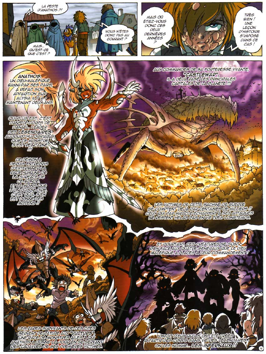 Page 4 : Les Légendaires Tome 11 : Versus Inferno
