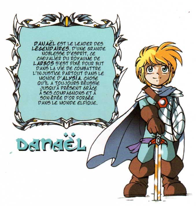 Danaël (Les Légendaires)