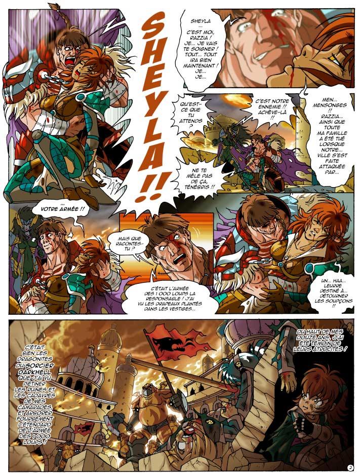 Page 2 : Les Légendaires Tome 12 : Renaissance (couverture)